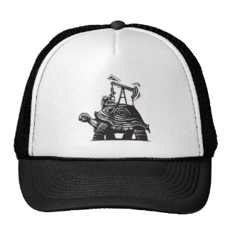 Oil Well Turtle Trucker Hat