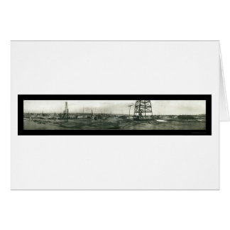 Oil Workers Kern River Photo 1910 Card