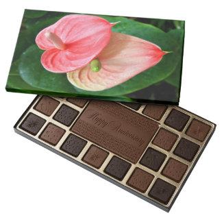 Oilcloth Flower Box of Chocolate 45 Piece Box Of Chocolates