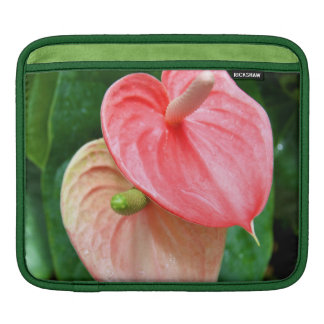 Oilcloth Flower iPad Sleeve (or for macbook air)
