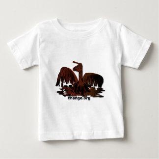 oiled brown pelican-2 baby T-Shirt