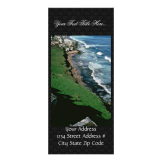 Oiled Coast, San Juan Rack Cards