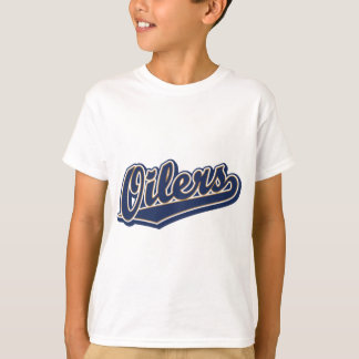 Oilers in Blue and Gold T-Shirt