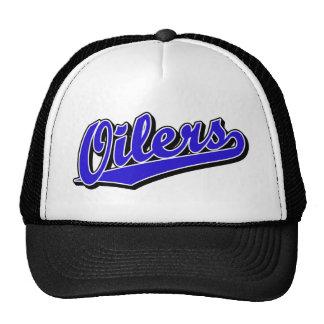 Oilers in Blue Trucker Hat