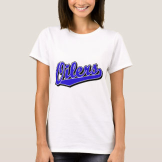 Oilers in Blue T-Shirt