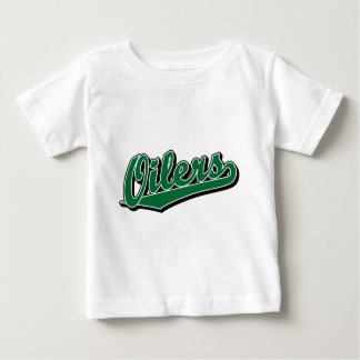 Oilers in Green Baby T-Shirt