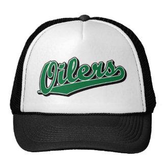 Oilers in Green Trucker Hat