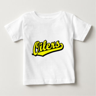 Oilers in Yellow Baby T-Shirt
