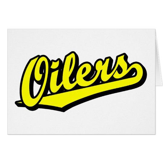 Oilers in Yellow Card