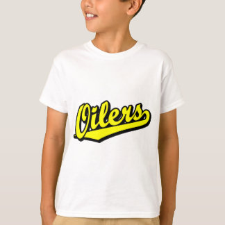 Oilers in Yellow T-Shirt