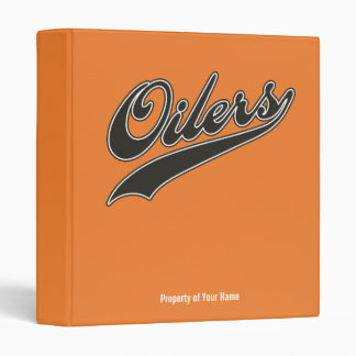 Oilers Script Binder
