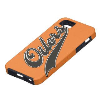 Oilers Script iPhone SE/5/5s Case