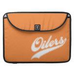 Oilers Script Sleeves For MacBook Pro