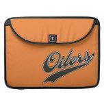 Oilers Script Sleeves For MacBooks