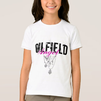 Oilfield Angel with necklace graphic T-Shirt