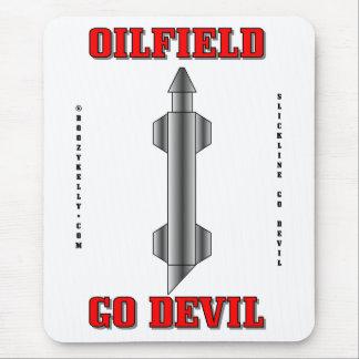 Oilfield Go Devil,Wireline Fishing Tool,Oil,Rigs Mouse Pad