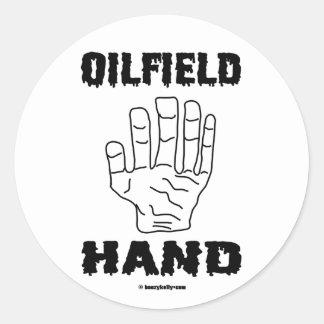 Oilfield Hand, Oil Field Sticker