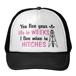 Oilfield | Offshore Hitches Girlfriend or Wife Trucker Hat