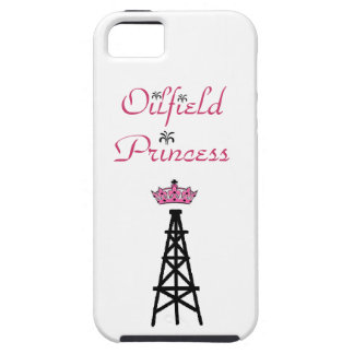 Oilfield Princess phone cover iPhone 5 Covers