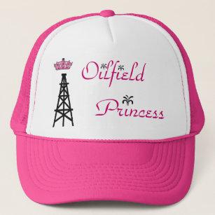 oilfield princess pink trucker hat