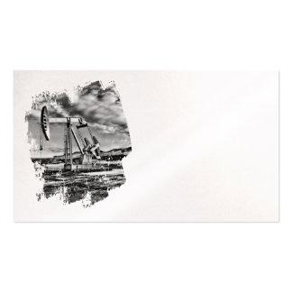 Oilfield Pumpjack Business Card