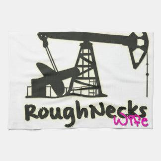 Oilfield Roughnecks Wife Kitchen Towels