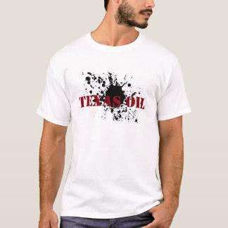 Oilfield Shirts Texas Oil Black Stencil Oil Smudge