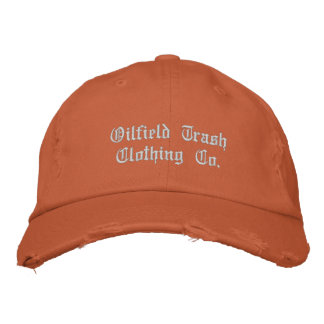 Oilfield Trash Clothing Co. Embroidered Baseball Hat