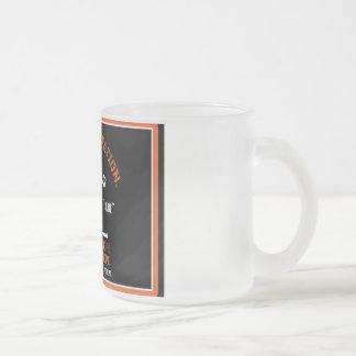OILFIELD TRASH FROSTED GLASS COFFEE MUG