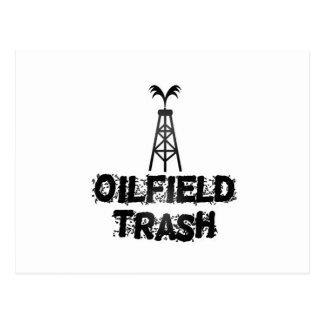 Oilfield Trash Post Cards