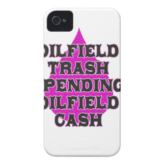 Oilfield Trash Spending Oilfield Cash Case-Mate iPhone 4 Cases