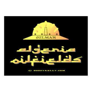 Oilman, campos petrolíferos de Argelia, tarjetas d Tarjeta Personal