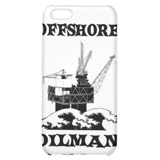 Oilman costero, aceite, gas, plataforma, plataform