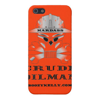 Oilman crudo de Hardass, iPhone, caja de la mota,  iPhone 5 Protectores