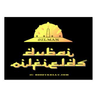 Oilman,Dubai Oilfields,UAR,United Arab Emirates Business Cards