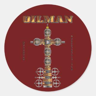 Oilman,Oil Field Sticker,Wellhead,Oil,Gas,Rigs