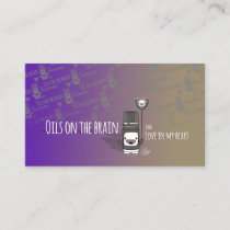 Oils on the Brain, Love in my heart Business Card