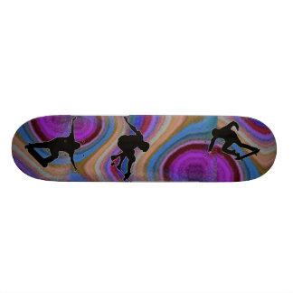 Oilslick Skateboard.. Skate Board Deck