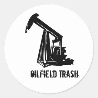 OILWELL5, Oilfield Trash Stickers