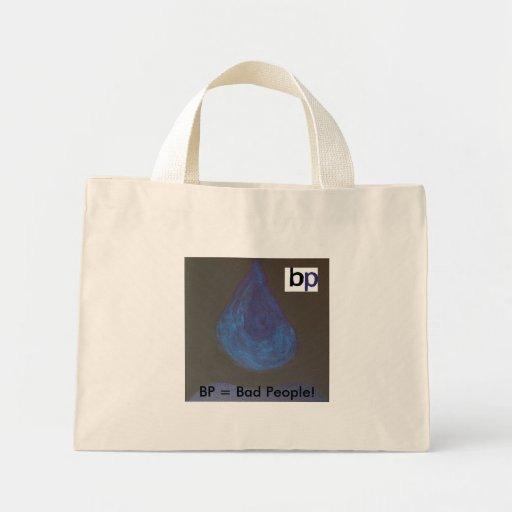 Oily Tear Canvas Bags