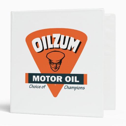 Oilzum motor oil binder