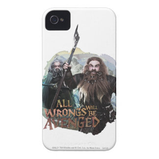 Oin and Gloin iPhone 4 Case-Mate Case
