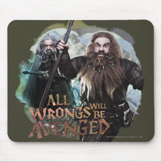 Oin and Gloin Mouse Pad