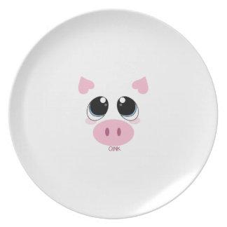 Oink cerdo plato