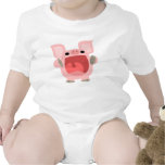 """OINK!!!"" Cute Cartoon Pig Baby Apparel Shirts"