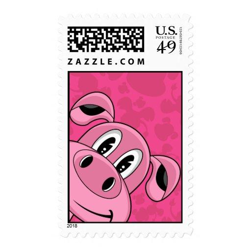 Oink! Cute Pig Stamp