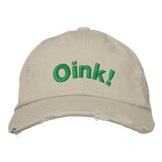 ¡Oink! Gorras Bordadas