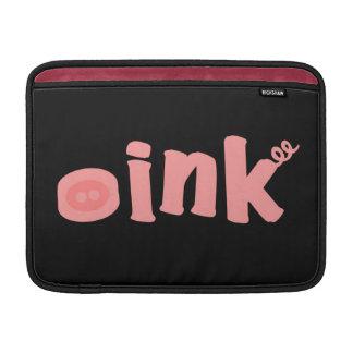 Oink! MacBook Sleeve