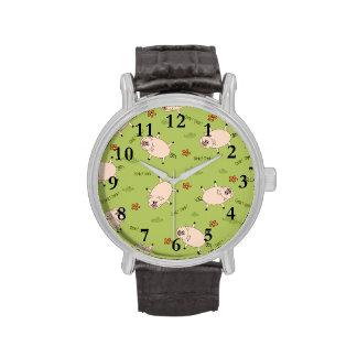Oink Oink modelo guarro Relojes