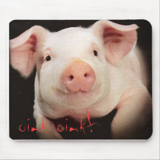 oink oink! mouse pad